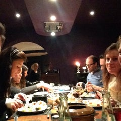 Photo taken at Fondue Huisje Le Bourguignon by Dries . on 2/28/2014