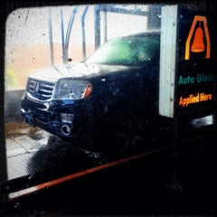 Photo taken at Auto Bell Car Wash by Tina H. on 3/30/2014
