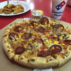 Photo taken at Domino's Pizza by Hande S. on 12/25/2015
