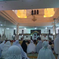 Photo taken at Masjid Kuarters KLIA by Athirah S. on 7/12/2014