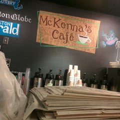 Photo taken at McKenna's Cafe by Fausto R. on 11/9/2014