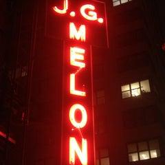 Photo taken at J.G. Melon by Matt S. on 1/7/2013