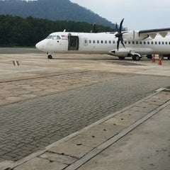 Photo taken at Redang Island Airport (RDN) by Eissa A. on 5/28/2014