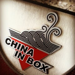 Photo taken at China in Box by Feliphe V. on 1/22/2014
