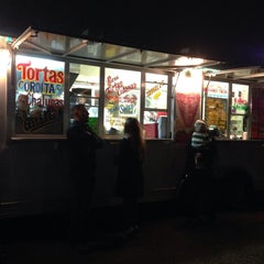Photo taken at Al Pastor Taco Truck by Ceci G. on 12/22/2014