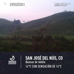 Photo taken at San José del Nús by Juan Esteban H. on 3/29/2014
