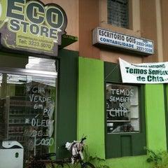 Photo taken at Eco Store Produtos Naturais by Gabriel F. on 2/11/2012