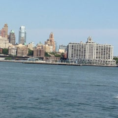 Photo taken at Governors Island Ferry by Sharwrkmom on 7/11/2014
