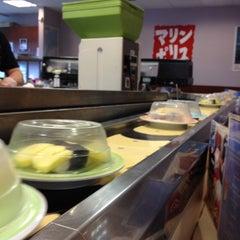 Photo taken at Marinepolis Sushi Land by chris l. on 5/29/2014