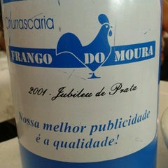 Photo taken at Frango do Moura by Donjorge A. on 11/18/2012