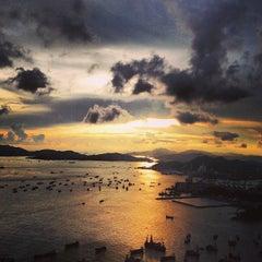 Photo taken at The Ritz-Carlton, Hong Kong by Valerie C. on 7/9/2013