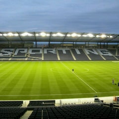 Photo taken at Sporting Park by Agung Noeg on 9/29/2012