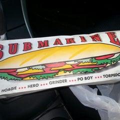 Photo taken at Super Submarine Sandwich Shop by P P. on 11/12/2012