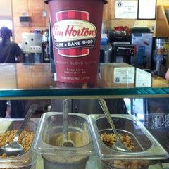 Photo taken at Tim Hortons Cafe & Bake Shop by Michael A. on 8/2/2013