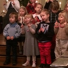 Photo taken at Liedon kirkko by Elisa H. on 12/11/2014