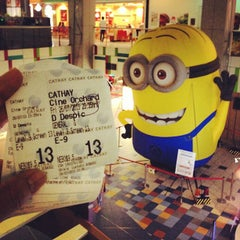 Photo taken at Cathay Cineplex by JOEL C. on 7/26/2013