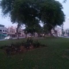 Photo taken at Parque Gonzales Prada by Eduardo T. on 12/18/2012