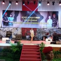 Photo taken at Balai Komando by Iswara A. on 10/24/2014