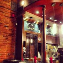 Photo taken at Paramount Fine Foods by Emiliano M. on 3/8/2013