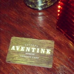 Photo taken at Taverna Aventine by Michael F. on 9/23/2012