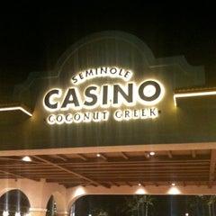 Photo taken at Seminole Casino Coconut Creek by Mika B. on 1/1/2013