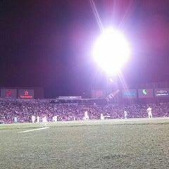 Photo taken at Territorio Santos Modelo Estadio by Alexei C. on 8/15/2015
