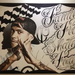 Photo taken at Black Ball Crew Tattoo Studio by Flavio S. on 10/27/2012