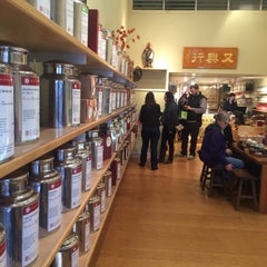 Photo taken at Red Blossom Tea Company by Grace K. on 1/3/2015