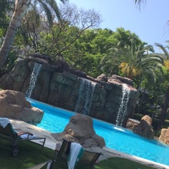 Photo taken at Meliá Marbella Banús by Manon D. on 5/16/2015