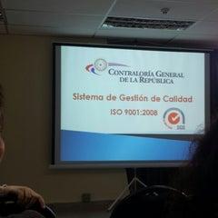 Photo taken at Contraloria General De La Republica Del Paraguay by Giovanni G. on 5/12/2015
