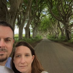 Photo taken at The Dark Hedges by Oliver T. on 6/3/2015