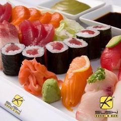 Photo taken at Sushi K Bar by Michael B. on 12/29/2013