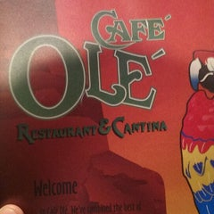 Photo taken at Cafe Ole by Kyle M. on 1/25/2014