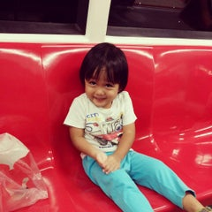 Photo taken at Bukit Gombak MRT Station (NS3) by Indra P. on 8/4/2015