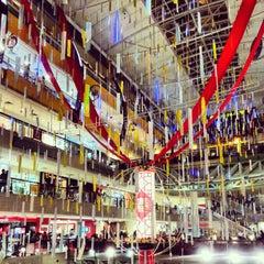 Photo taken at Plaza Singapura by Indra P. on 1/4/2013