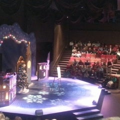 Photo taken at American Heartland Theatre by Nicole W. on 12/23/2012