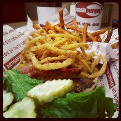Photo taken at Smashburger by Jenni M. on 10/8/2012