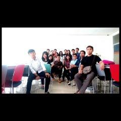Photo taken at Telkom Applied Science School by yuli a. on 10/17/2014