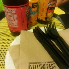Photo taken at Yellow Cab Pizza Co. by Rollie U. on 4/16/2014