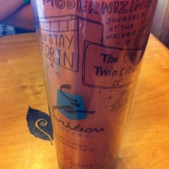 Photo taken at Caribou Coffee by Holly on 8/1/2012