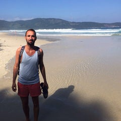 Photo taken at Lopes Mendes by Stéphane V. on 6/13/2015