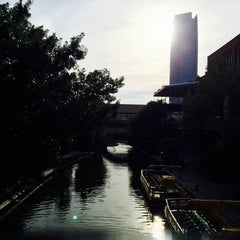 Photo taken at Bricktown Park by Michael L. on 5/19/2014