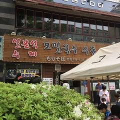 Photo taken at 그집 (Gujip Restaurant) by Hongkyu P. on 5/1/2015