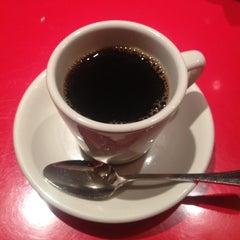 Photo taken at Pershing Square Café by yoichi y. on 3/9/2013