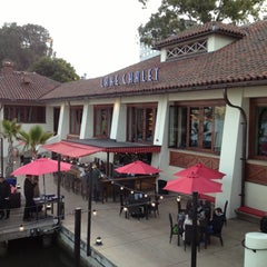 Photo taken at The Lake Chalet Seafood Bar & Grill by Irving G. on 4/14/2013
