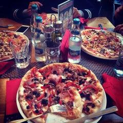 Photo taken at Pizza Strega by Rania V. on 2/12/2014