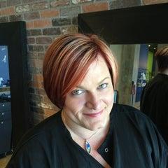 Photo taken at Artistik Edge Hair Studio by Krista M. on 12/3/2015