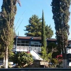 Photo taken at Prepa Sur by Hiram Isai G. on 1/21/2014