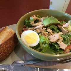 Photo taken at Panera Bread by Hayley W. on 7/22/2015