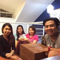Photo taken at Maginhawa Street by Toffee P. on 7/12/2015